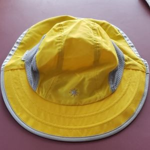Yellow Sun☀️Day afternoon women's hat sz. M